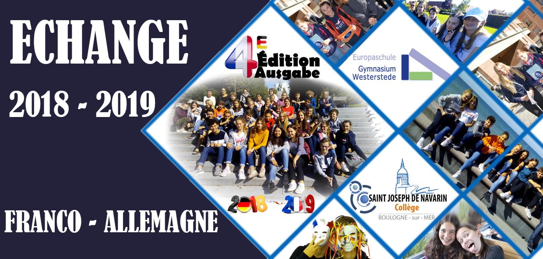 Echange Franco-Allemand 2018-2019