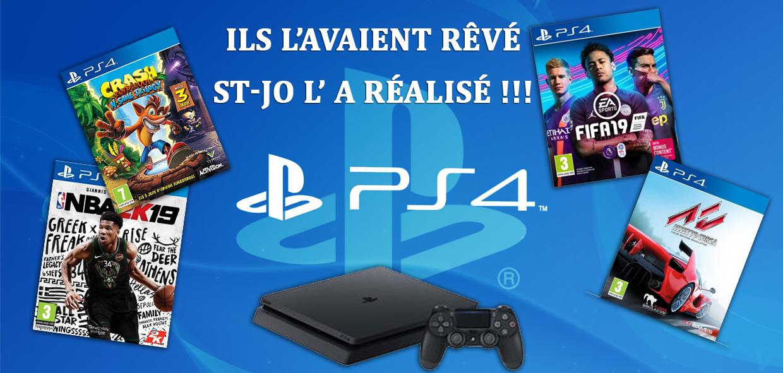 La PS4 est arrivée à St-Jo Navarin...