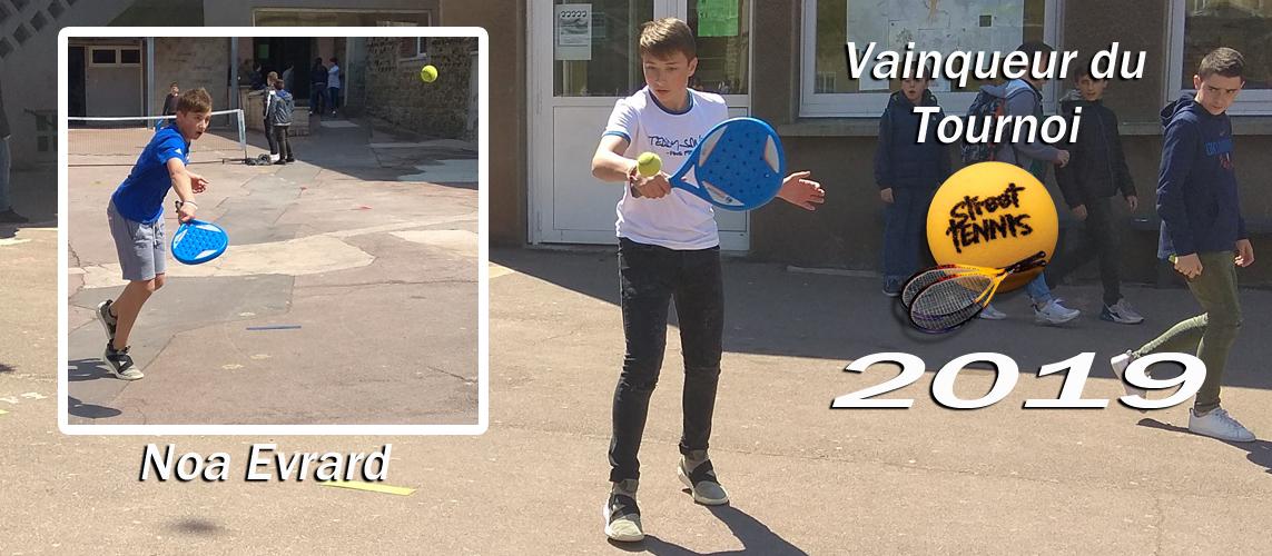 Tournoi de Street Tennis 2019